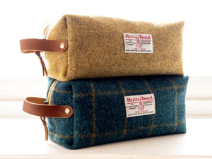 Harris Tweed Dopp Kit