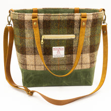 Load image into Gallery viewer, Harris Tweed Commuter Tote