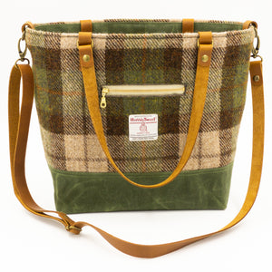 Harris Tweed Commuter Tote