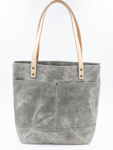Waxed Denim Tote