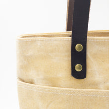 Load image into Gallery viewer, Waxed Canvas Tote - Natural