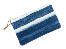 Load image into Gallery viewer, Medium vintage mudcloth zipper pouch - 9