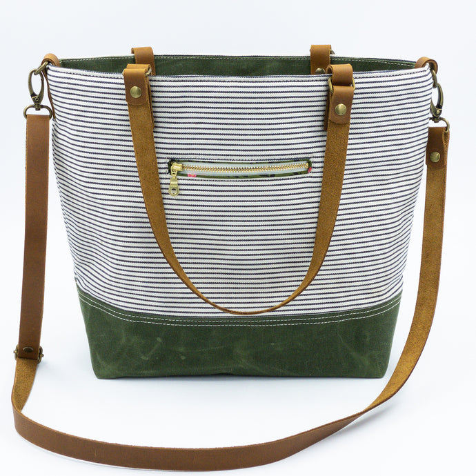 Signature Stripes Commuter Bag