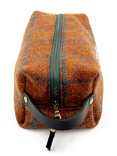 Load image into Gallery viewer, Harris Tweed Dopp Kit
