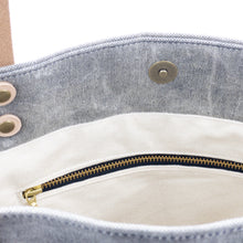 Load image into Gallery viewer, Waxed Denim Tote