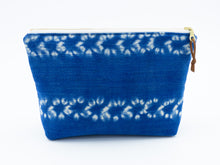 Load image into Gallery viewer, Large vintage mudcloth zipper pouch - 4