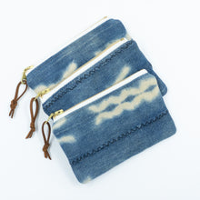 Load image into Gallery viewer, Small vintage mudcloth zipper pouch - 7