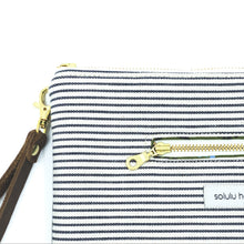 Load image into Gallery viewer, Signature Stripes Clutch