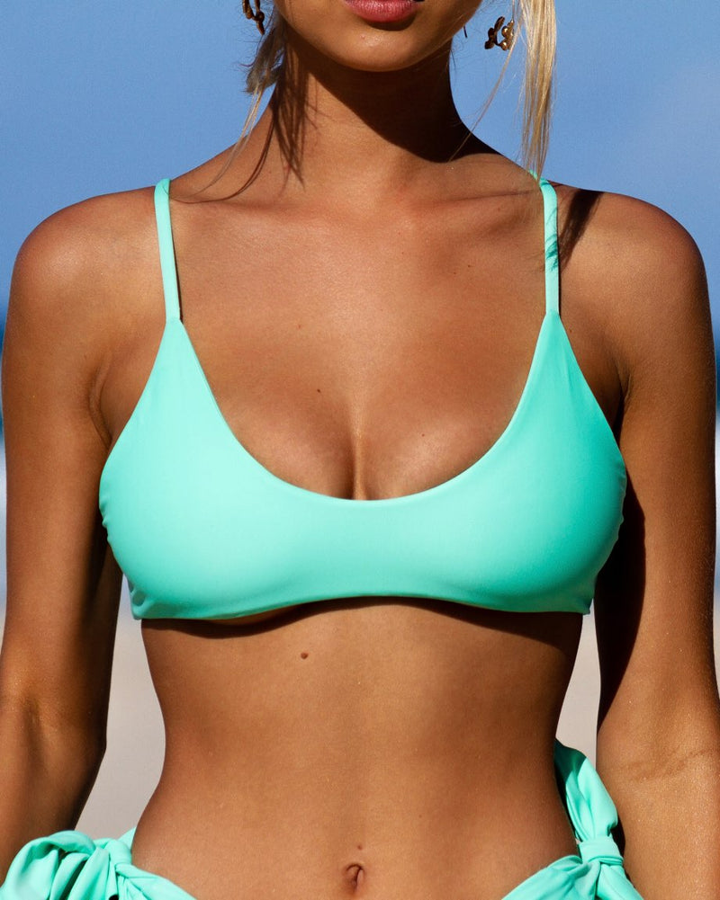 POPPY TOP SEAFOAM