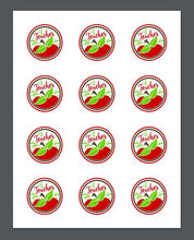 Load image into Gallery viewer, #1 Teacher Apple Package Tags - Dots and Bows Designs