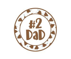 #2 Dad Package Tags - Dots and Bows Designs