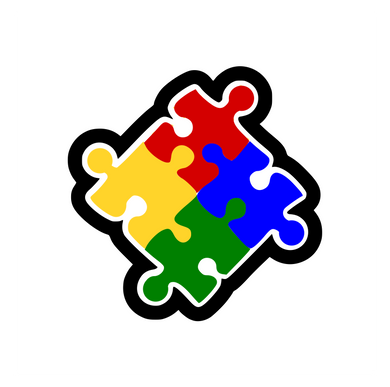 Autism Puzzle Pieces Cutter CC