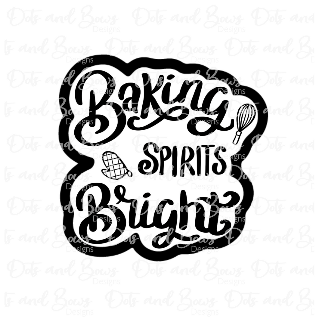 Baking Spirits Bright Cutter