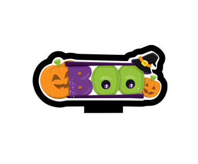 BOO Cutter - Dots and Bows Designs