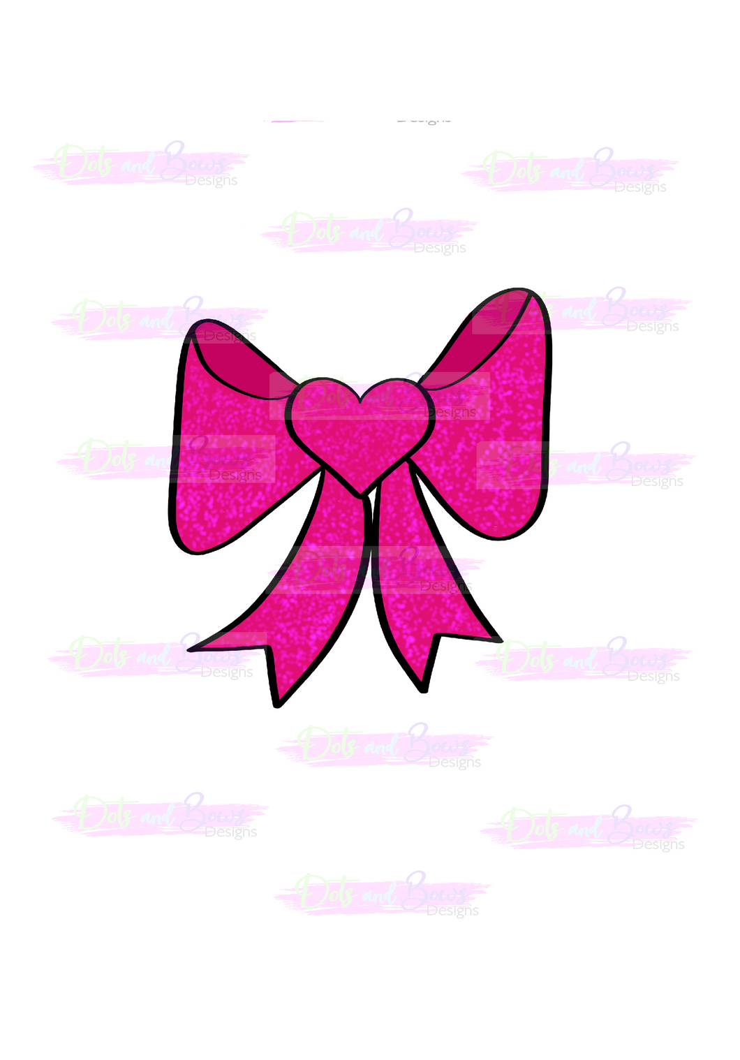 Bow Cutter - Dots and Bows Designs