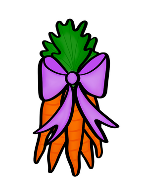 Bunch of Carrots STL Cutter File - Dots and Bows Designs