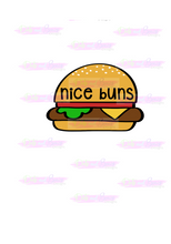 Load image into Gallery viewer, Nice Buns Cutter - Dots and Bows Designs