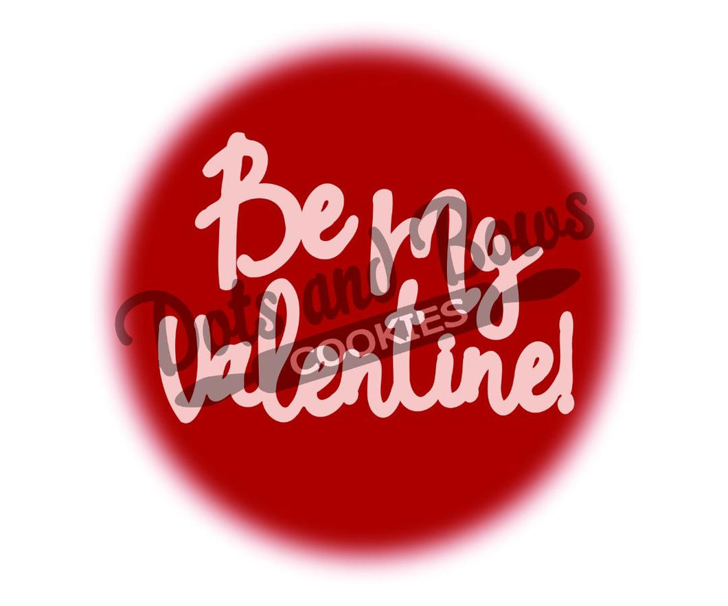 Be My Valentine Package Tags - Dots and Bows Designs