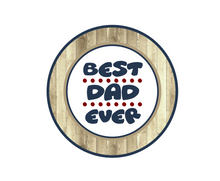 Load image into Gallery viewer, Best Dad Ever Package Tags - Dots and Bows Designs