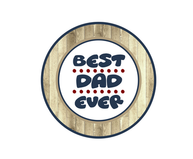 Best Dad Ever Package Tags - Dots and Bows Designs