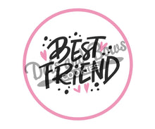 Load image into Gallery viewer, Best Friend Package Tags - Dots and Bows Designs