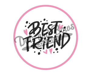 Best Friend Package Tags - Dots and Bows Designs