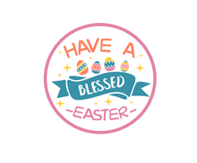 Load image into Gallery viewer, Have A Blessed Easter Package Tags - Dots and Bows Designs