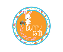 Load image into Gallery viewer, Bunny Bait Package Tags - Dots and Bows Designs