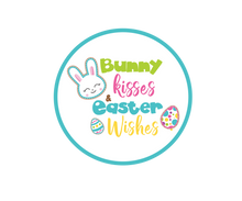 Load image into Gallery viewer, Bunny Kisses Easter Wishes Package Tags - Dots and Bows Designs