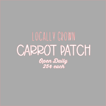 Load image into Gallery viewer, Carrot Patch Stencil - Dots and Bows Designs