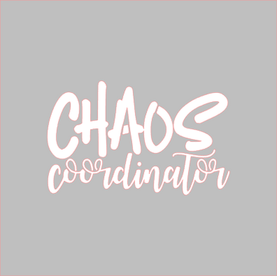 Chaos Coordinator Stencil - Dots and Bows Designs