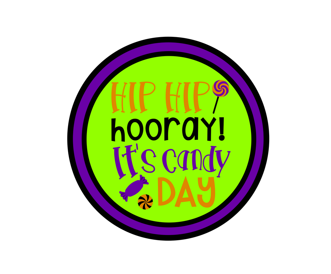 Candy Day 1 Package Tag - Dots and Bows Designs