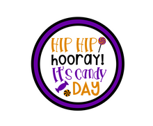 Load image into Gallery viewer, Candy Day 2 Package Tag - Dots and Bows Designs