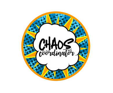 Chaos Coordinator Package Tags - Dots and Bows Designs