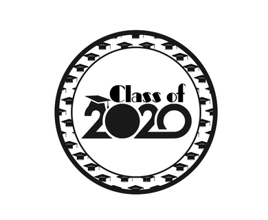 Class of 2020 Caps Package Tags - Dots and Bows Designs