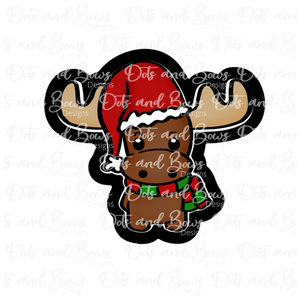 Christmas Moose Cutter