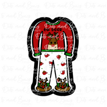 Load image into Gallery viewer, Christmas PJs STL Cutter File