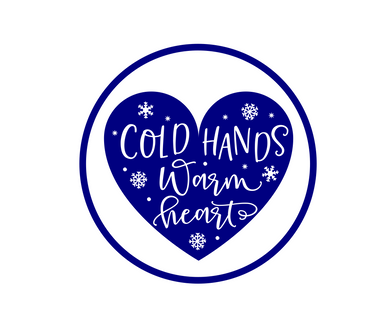 Cold Hands Warm Heart Package Tags - Dots and Bows Designs