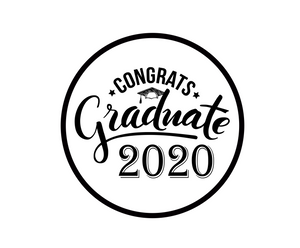 Congrats Graduate 2020 Package Tags - Dots and Bows Designs