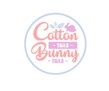 Load image into Gallery viewer, Cotton Tails Bunny Tails Package Tags - Dots and Bows Designs