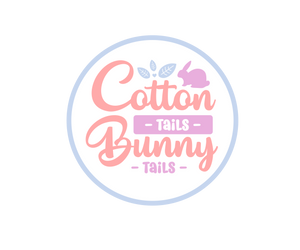 Cotton Tails Bunny Tails Package Tags - Dots and Bows Designs
