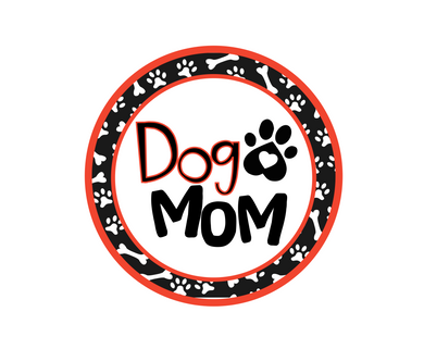 Dog Mom Package Tags - Dots and Bows Designs