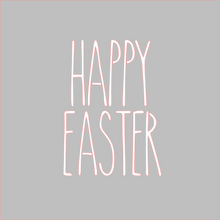 Load image into Gallery viewer, Happy Easter Skinny Stencil Digital Download - Dots and Bows Designs