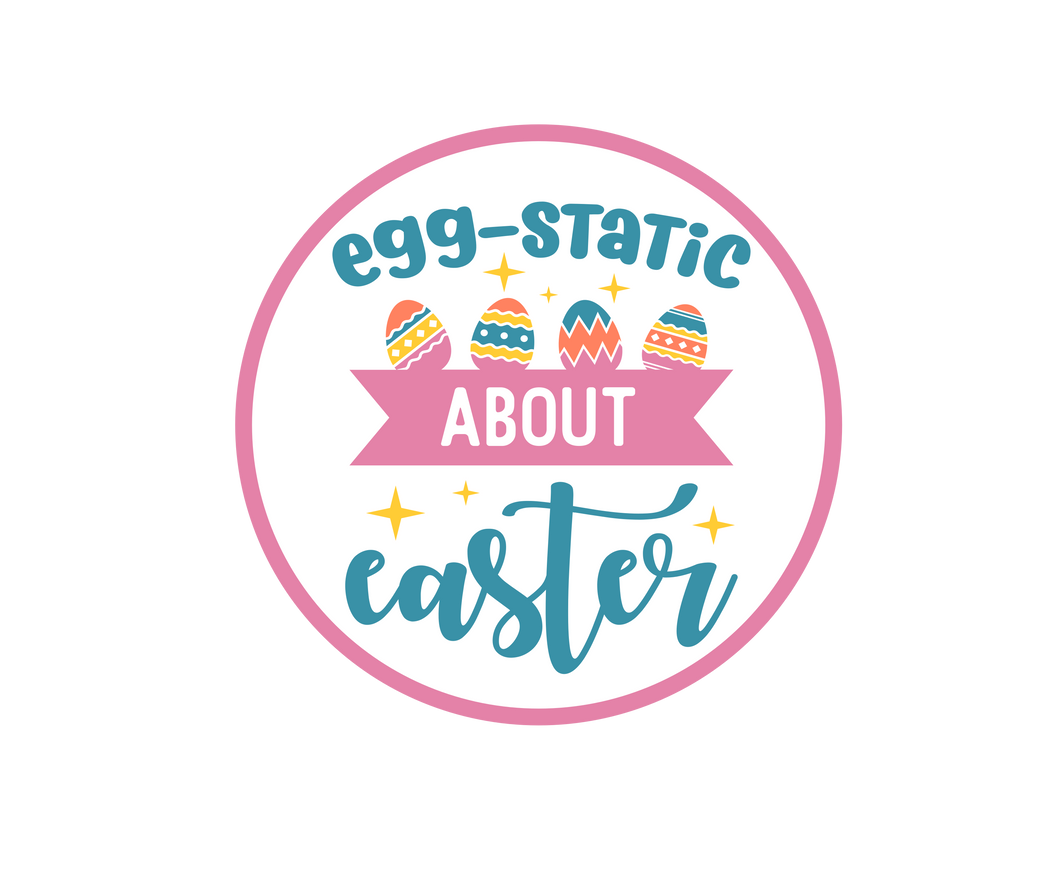 EGGstatic About Easter Package Tags - Dots and Bows Designs