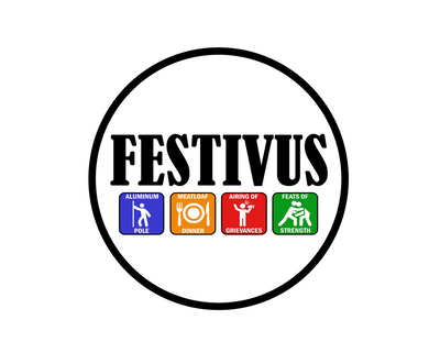 Festivus Icons Package Tags - Dots and Bows Designs