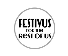 Load image into Gallery viewer, Festivus Rest of Us Package Tags - Dots and Bows Designs