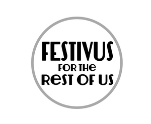 Festivus Rest of Us Package Tags - Dots and Bows Designs