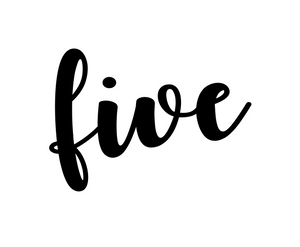 Five AIN Plaque Cutter - Dots and Bows Designs