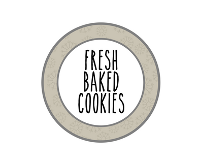 Fresh Baked Cookies RDI Package Tags - Dots and Bows Designs