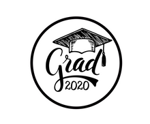 Load image into Gallery viewer, Grad 2020 Package Tags - Dots and Bows Designs